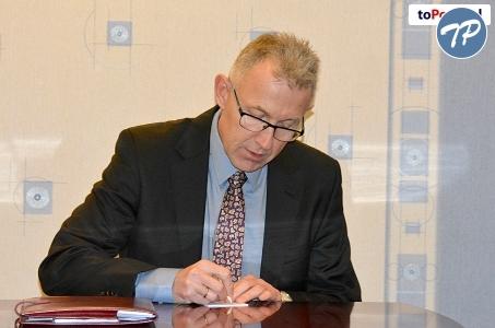 Racibórz. Prezydent Mirosław Lenk dziękuje za zaufanie i oddane głosy.