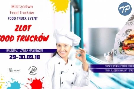 Zlot Food Trucków w Raciborzu. Mistrzostwa FTE niebawem na Zamku Piastowskim.