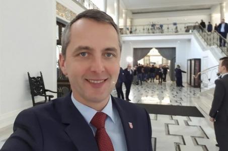Prezydent Raciborza w Sejmie RP.