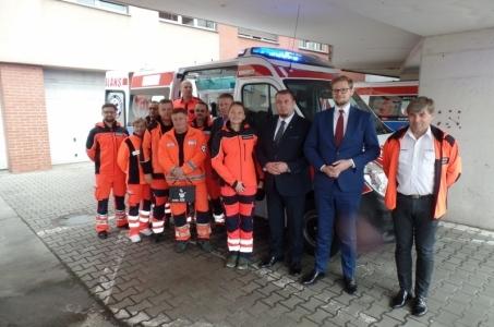 Powiat raciborski. Nowy ambulans w raciborskim szpitalu.