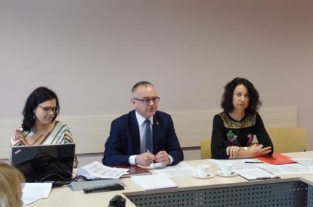 Posiedzenie zespołu ds. określenia kierunków kształcenia.