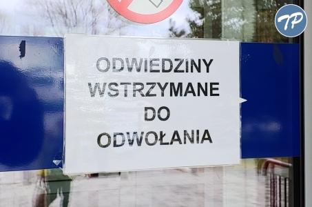 Szpital Rejonowy o środkach bezpieczeństwa w sytuacji podejrzenia zakażenia koronawirusem.
