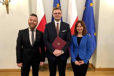 Michał Woś powołany na urząd Ministra Środowiska.