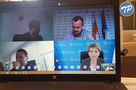 Starosta Grzegorz Swoboda uczestniczył w telekonferencji z Ministrem Rodziny, Pracy i polityki Społecznej Marleną Maląg.