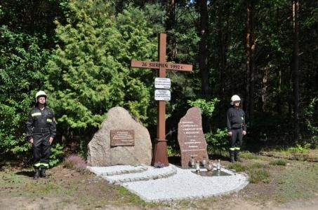 Upamiętniono 28. rocznicę pożaru w Kuźni Raciborskiej.