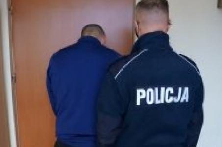 Racibórz. Raciborscy kryminalni zatrzymali 33-latka z narkotykami.