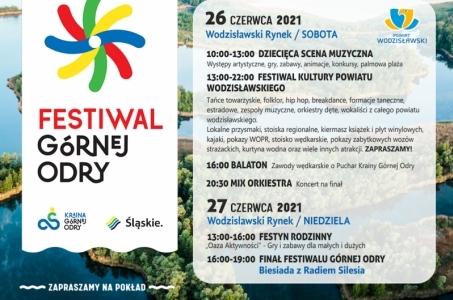 Wodzisław Śląski. Już wkrótce w Wodzisławiu Śl. Festiwal Górnej Odry.